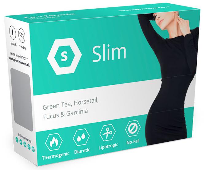 Sirenspharma Slim - tablety na hubnutí