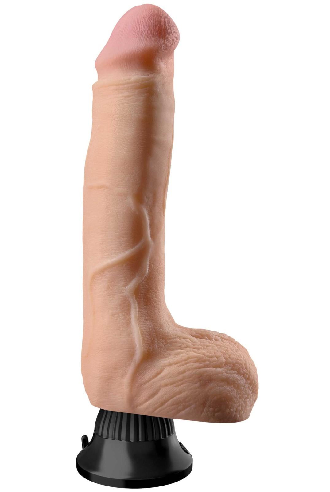 Vibrátor Deluxe No. 7 - realistický, 28 cm