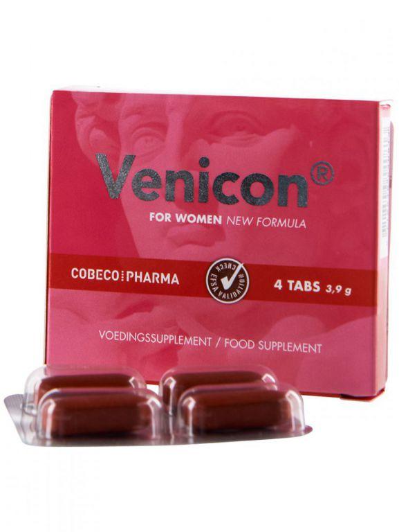 Venicon pro ženy - tablety na zvýšení sexuální touhy