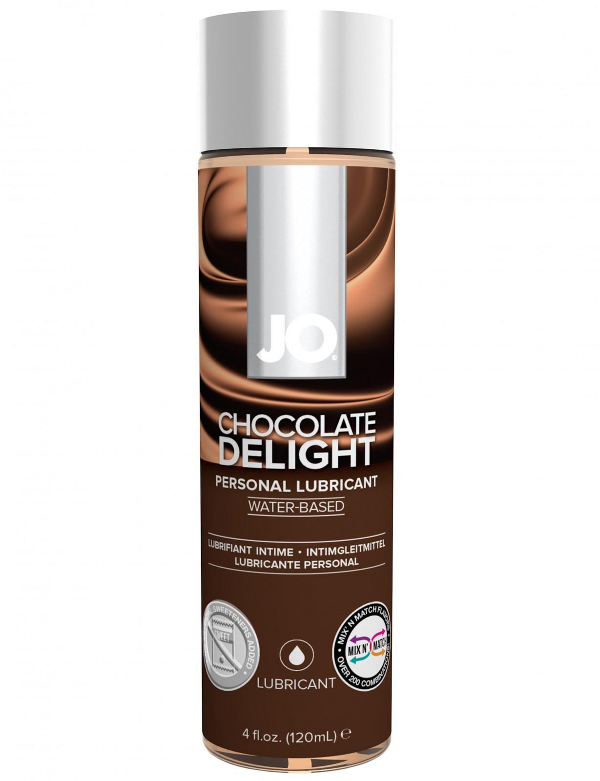 Lubrikační gel System JO H2O Čokoláda
