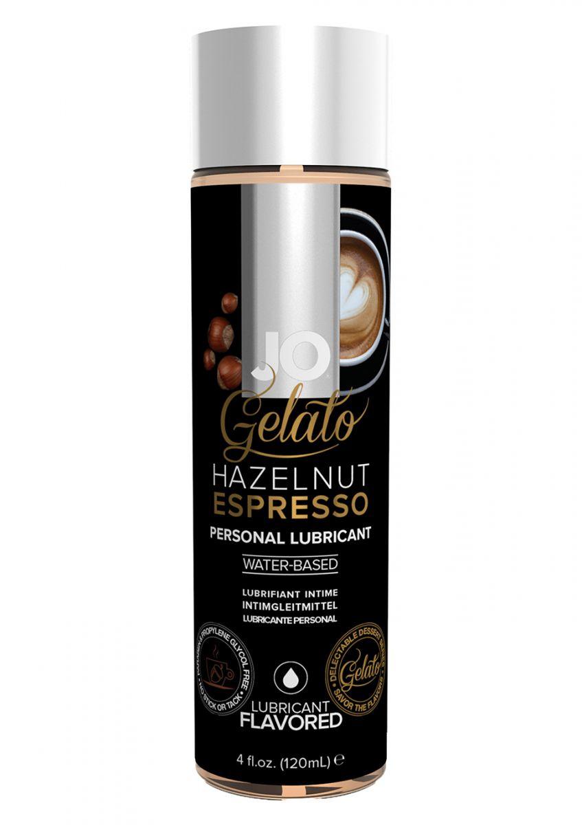 Lubrikační gel System JO Gelato Oříškové espresso
