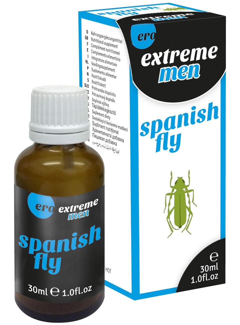 Kapky Ero Spanish Fly Extreme Men - španělské mušky pro muže