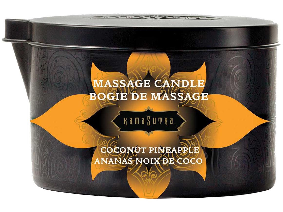 Masážní olejová svíčka Ignite Coconut Pineapple