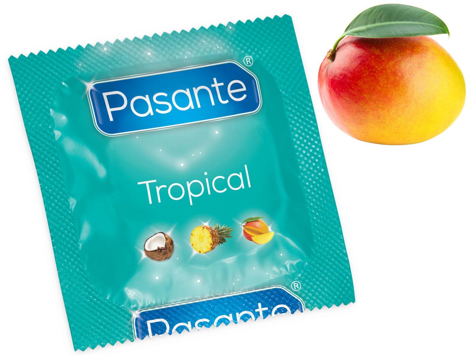Kondom Pasante Tropical Mango