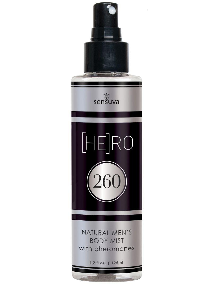 Tělová mlha s feromony pro muže (HE)RO 260 - Sensuva