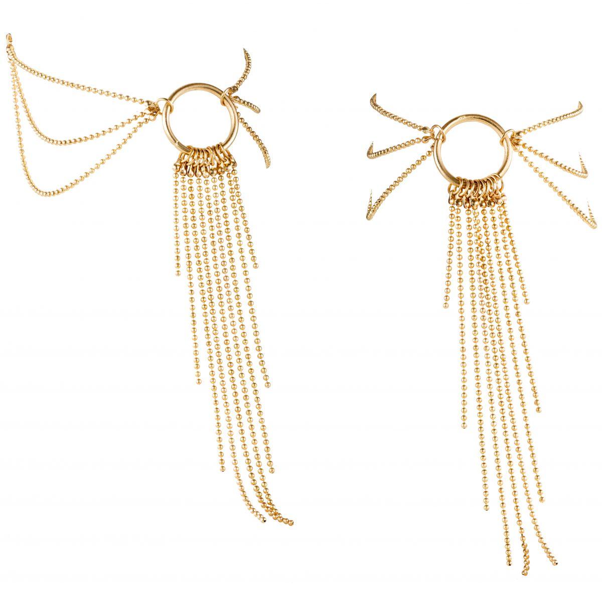 Ozdoba na kotníky Magnifique (zlatá)