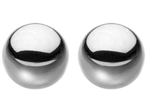 Kovové vaginální kuličky Ben-Wa Steele Balls