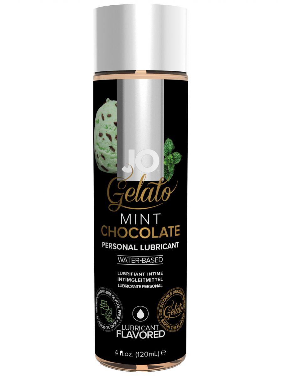 Lubrikační gel System JO Gelato Čokoláda s mátou - 120 ml