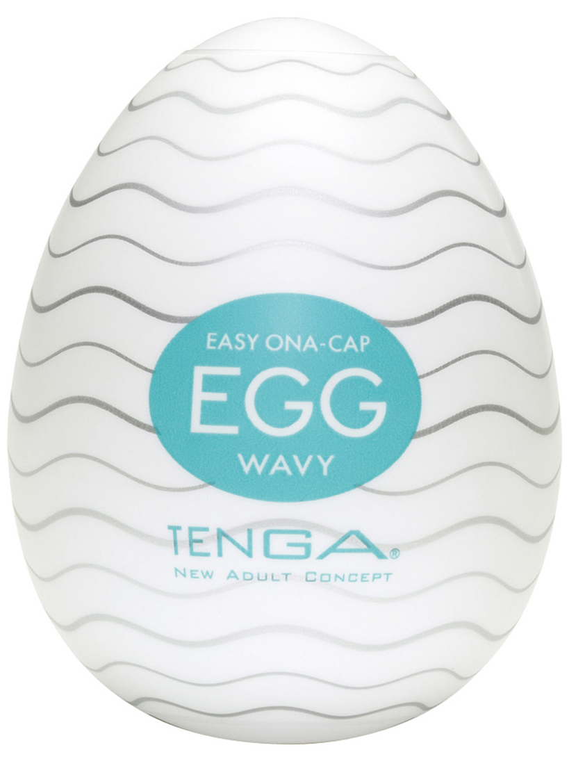 Tenga Egg Wavy - masturbátor pro muže