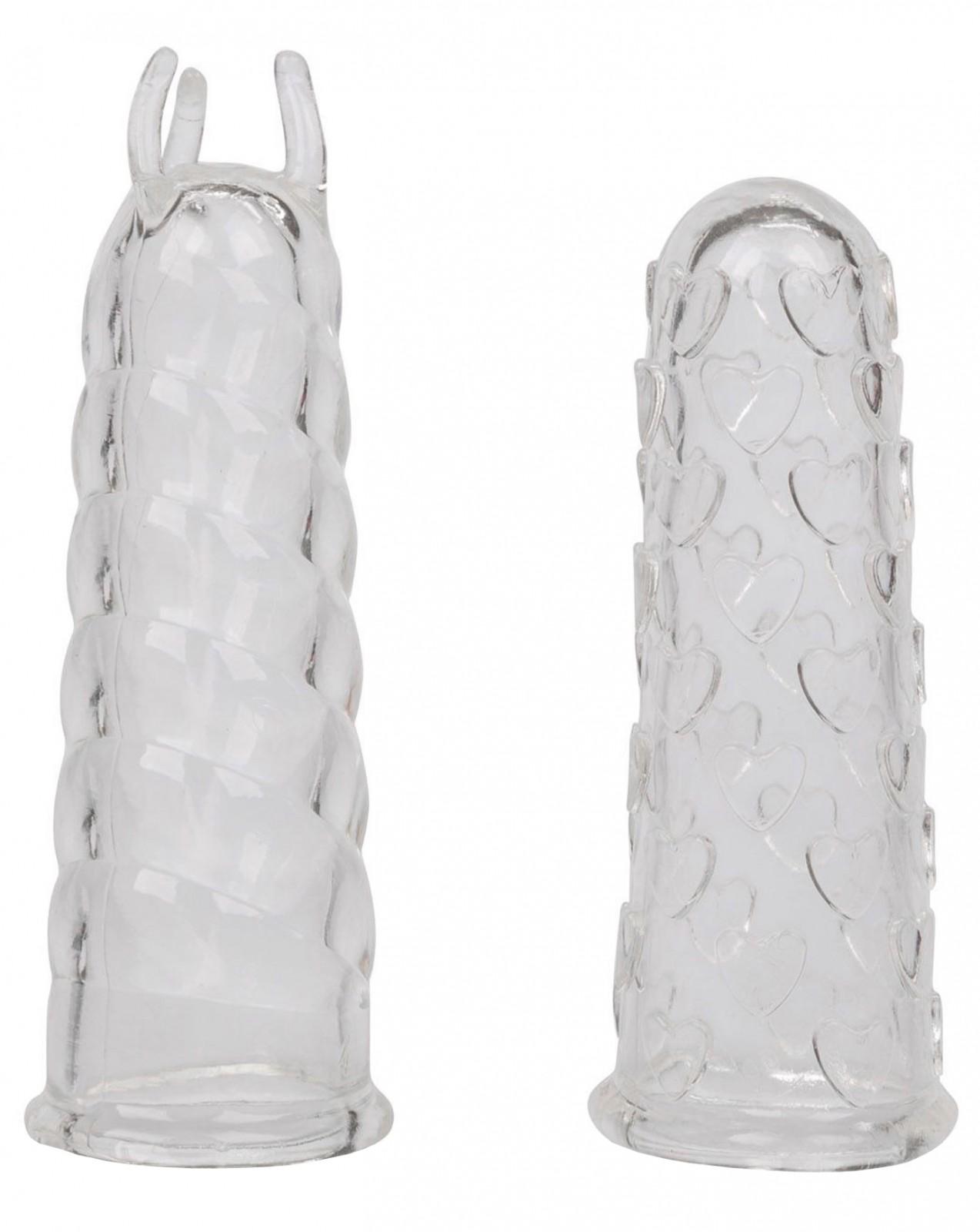 Stimulační návleky na prsty Finger Teaser - 2 ks