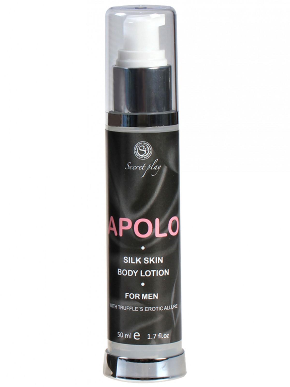 Tělové mléko s feromony pro muže Apolo - Secret Play (50 ml)