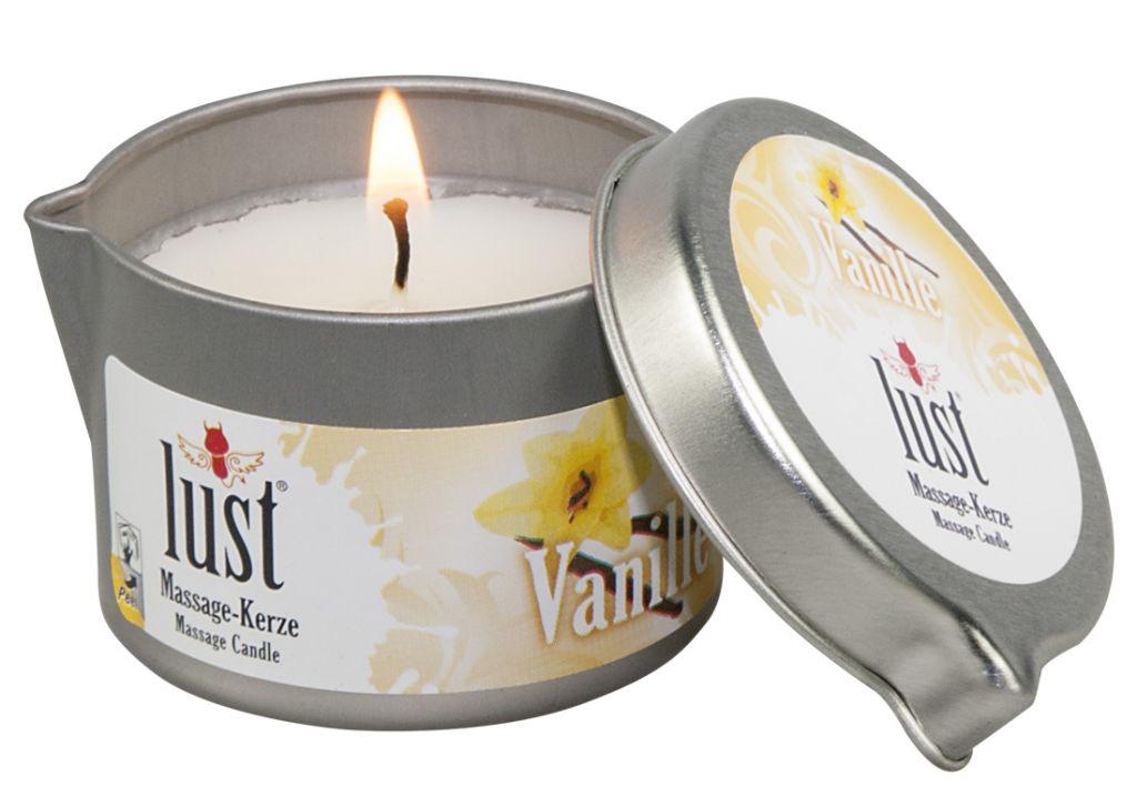 Masážní svíčka Vanilka