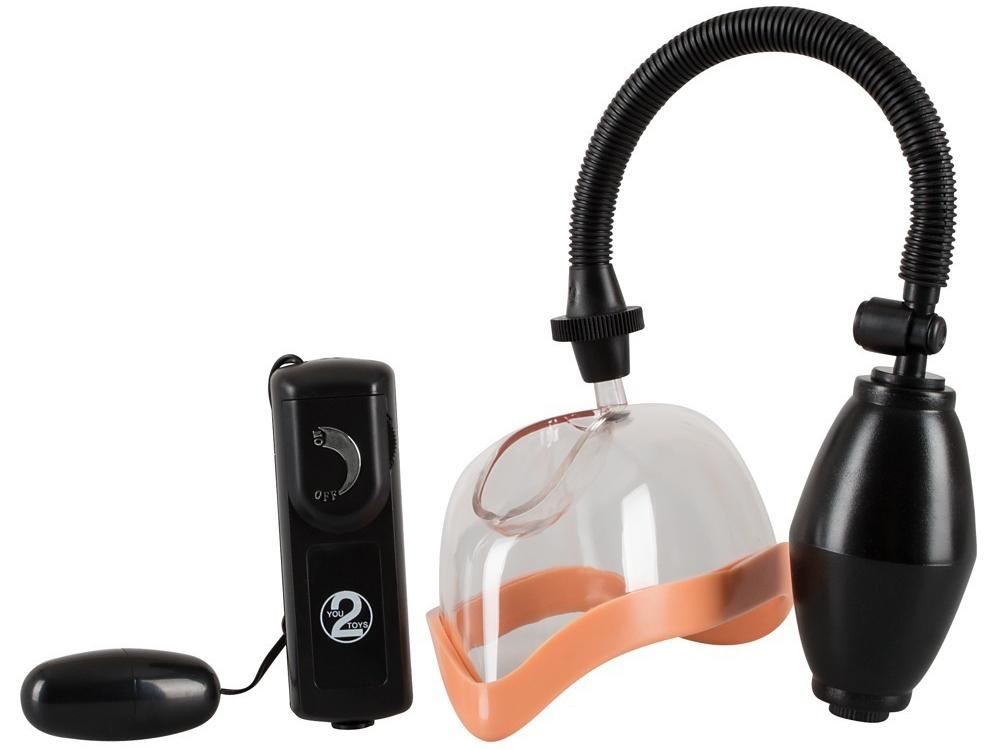 Vibrační dámská vakuová pumpa